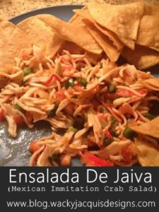 Recipe: Ensalada De Jaiva (Mexican Immitation Crab Salad)