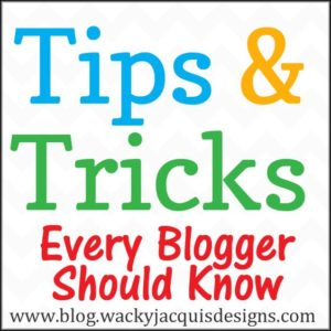 Tips and Tricks Every Blogger Should Know