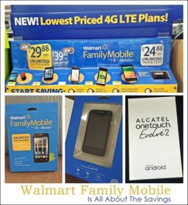 Summer Savings With Walmart Family Mobile